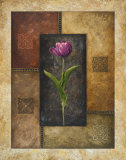 Violet Tulip Prints by Michael Marcon