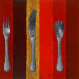 Bon Appetit Stripes I Prints by Lanie Loreth