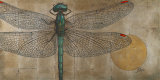 Dragonfly on Silver Affiches par Patricia Quintero-Pinto