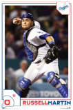 Los Angeles Dodgers- Russell Martin Poster