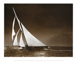 Sailing Yacht Mohawk at Sea, c.1895 Posters