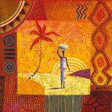 Karibu Poster by Eduardo Jindani