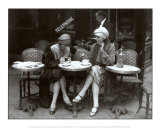 Cafe et Cigarette Paris, 1925 Print
