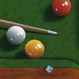 Billiards Poster by Bill Romero