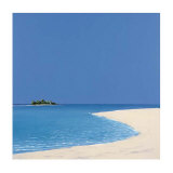 Island in the Sun I Prints by Werner Eick