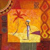 Karibu Posters by Eduardo Jindani