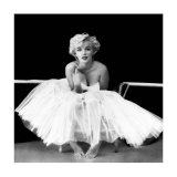 Marilyn Monroe - Ballet Dancer Print by Milton H. Greene