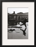 Derriere la Gare Saint-Lazare, Paris Art by Henri Cartier-Bresson