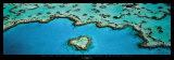 Heart Reef, Great Barrier Reef Poster par Grant Faint