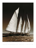 Sailing at Cowes II Print by Bill Philip