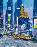 Times Square,  New York City Pósters por Roy Avis
