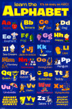 Learn The Alphabet Prints