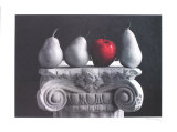 Pears and Passion Collectable Print by Harvey Edwards
