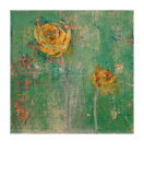 Green Floral I Limited Edition by Maeve Harris