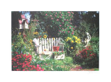 Secret Garden Collectable Print by Harvey Edwards