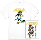 Anthrax - 80's Cartoon T-Shirt