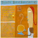 Tourte Prints by C&#233;line Mal&#233;part