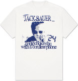 24 - Jack Bauer Could Choke You with a Cordless Phone T-shirts