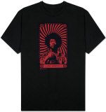 Jimi Hendrix - Swirl Poster Shirt