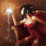 Le Lotus Affiches par  Misstigri