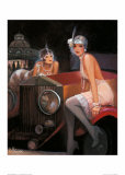Rolls Escapades Print by Bernard Peltriaux