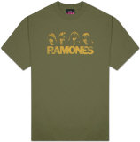 The Ramones - Four Heads Distressed T-shirts
