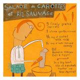 Salade de Carottes Posters by Céline Malépart