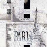 Paris Plakater af Marie Louise Oudkerk