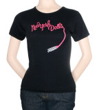 Juniors: New York Dolls - Lipstick Babydoll T-Shirt