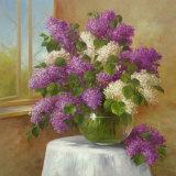 Lilac Chorus Print by  Fasani