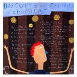 Biscuits aux Pepites Print by Céline Malépart