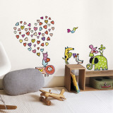 Zoo Story Wall Decal
