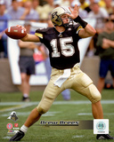 Drew Brees - Purdue University Boilermakers 2000 Action Photo