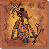 De Vous a Moi I Reproducción en lienzo de la lámina por Isabelle Vital