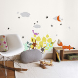 Cartoon Animals Autocollant mural