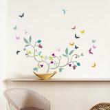 Poppy Blossom - Duvar Çıkartması