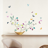 Poppy Blossom Wall Decal