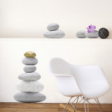 Zen Stones Wall Decal