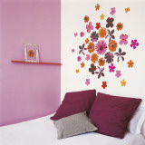 Fleurs Pop Wall Decal