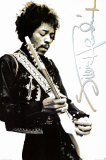 Jimi Hendrix Black & White Prints