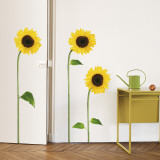 Tournesols Autocollant mural