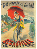 Cycles Decauville Giclee Print by Ernest Clouet