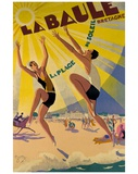 La Baule Lámina giclée por Maurice Lauro