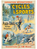 Exposition Internationale, Cycles & Sports Giclee Print by Lucien Lefevre