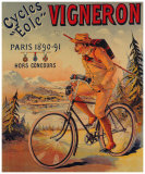 Cycles Vigneron Giclee Print by Charles Verneau