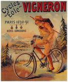 Cycles Vigneron Lámina giclée por Charles Verneau