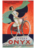 Bicicletas Onyx Lámina giclée por  Fritayre