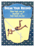 Break Your Record Giclee Print