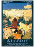 Algerie Giclee Print by Leon Cauvy