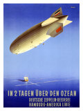 In 2 Tagen Uber Den Ozean Giclee Print by Ottomar Anton